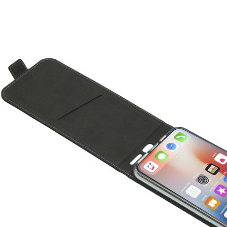 Accezz Flipcase iPhone 11 Pro Max - Zwart (D)