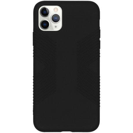 Accezz Impact Grip Backcover iPhone 11 Pro Max - Zwart (D)