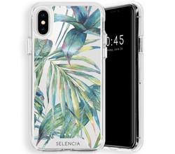 Selencia Selencia Zarya Fashion Extra Beschermende Backcover iPhone Xs / X (D)