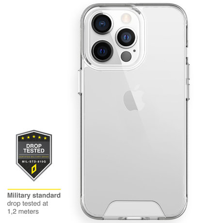 Accezz Xtreme Impact Backcover iPhone 13 Pro - Transparant (D)