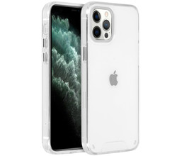 Accezz Accezz Xtreme Impact Backcover iPhone 12 Pro Max - Transparant (D)