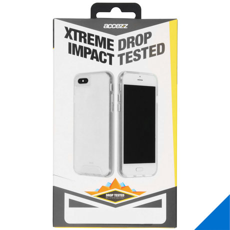 Accezz Xtreme Impact Backcover iPhone 12 (Pro) - Transparant (D)