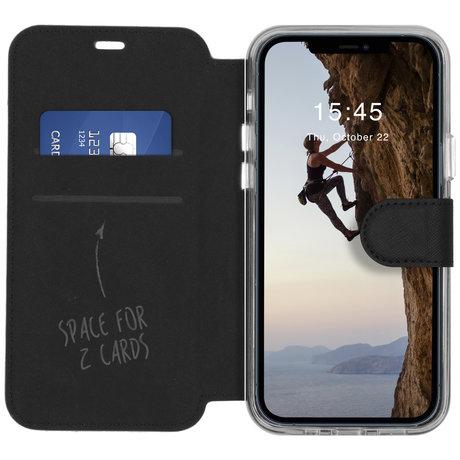Accezz Xtreme Wallet Booktype iPhone 12 (Pro) - Zwart (D)