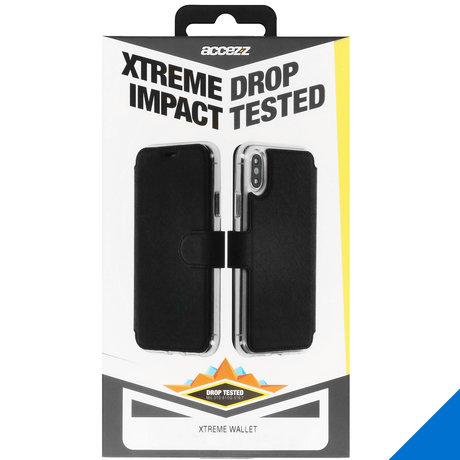 Accezz Xtreme Wallet Booktype iPhone 11 - Zwart (D)