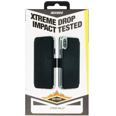 Accezz Xtreme Wallet Booktype iPhone 11 Pro Max - Zwart (D)
