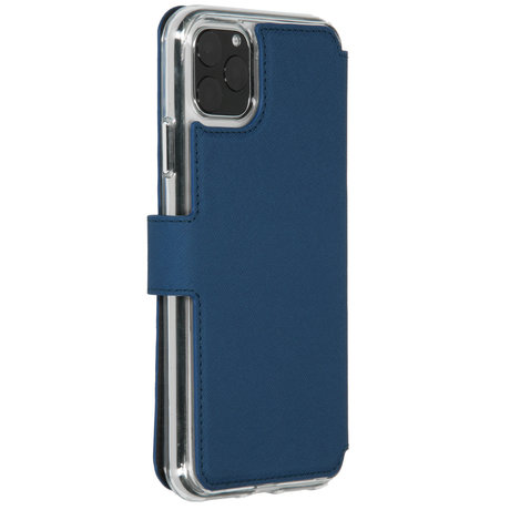 Accezz Xtreme Wallet Booktype iPhone 11 Pro Max - Blauw (D)