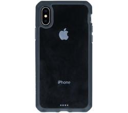 ITSkins Itskins Hybrid MKII Backcover iPhone Xs / X - Zwart / Transparant (D)