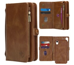 iMoshion iMoshion 2-in-1 Wallet Booktype iPhone Xr - Bruin (D)