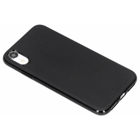 Carbon Softcase Backcover iPhone Xr (D)
