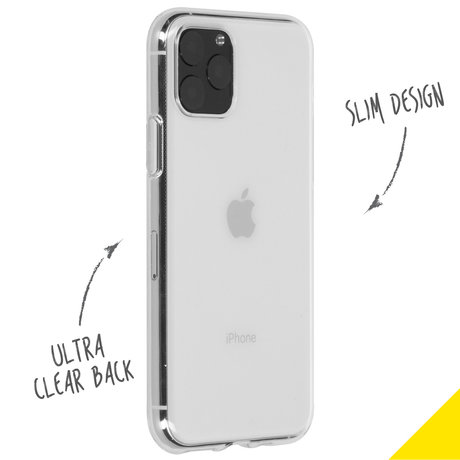 Accezz Clear Backcover iPhone 11 Pro - Transparant (D)