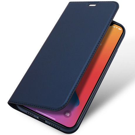 Dux Ducis Slim Softcase Booktype iPhone 12 Pro Max - Donkerblauw (D)