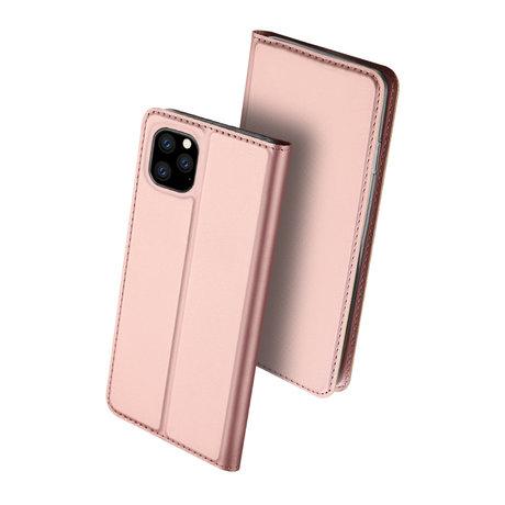 Dux Ducis Slim Softcase Booktype iPhone 11 Pro Max - Rosé Goud (D)
