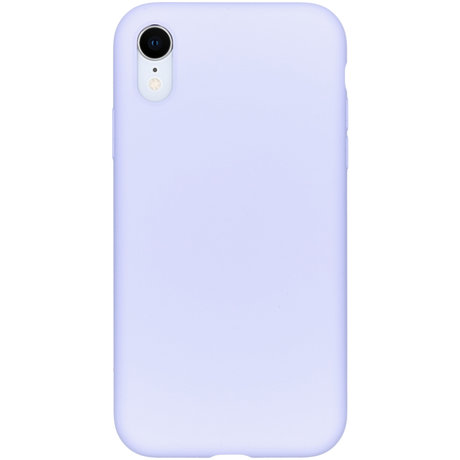 Accezz Liquid Silicone Backcover iPhone Xr - Paars (D)