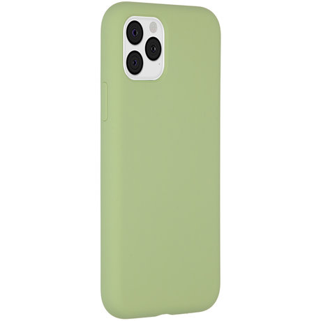Accezz Liquid Silicone Backcover iPhone 11 Pro - Groen (D)