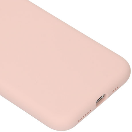 Accezz Liquid Silicone Backcover iPhone 11 Pro - Roze (D)