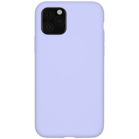 Accezz Liquid Silicone Backcover iPhone 11 Pro - Paars (D)