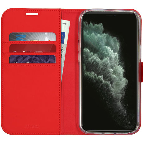 Accezz Wallet Softcase Booktype iPhone 12 Pro Max - Rood (D)
