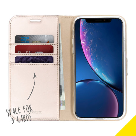 Accezz Wallet Softcase Booktype iPhone Xr (D)
