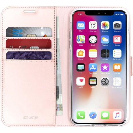Accezz Wallet Softcase Booktype iPhone Xs Max (D)
