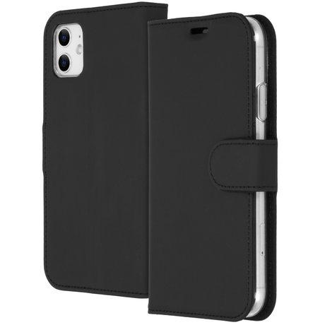 Accezz Wallet Softcase Booktype iPhone 11 - Zwart (D)
