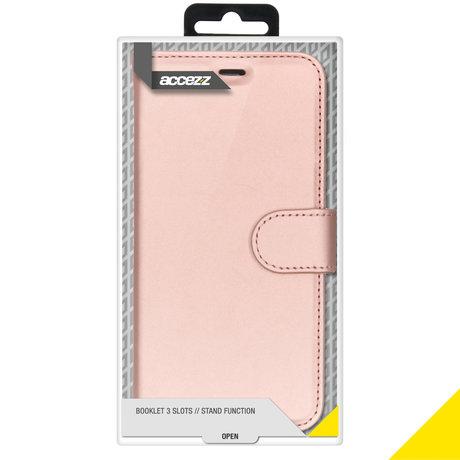 Accezz Wallet Softcase Booktype iPhone 11 - Rosé Goud (D)