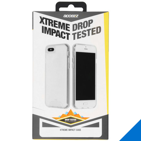 Accezz Xtreme Impact Backcover iPhone 11 - Transparant (D)