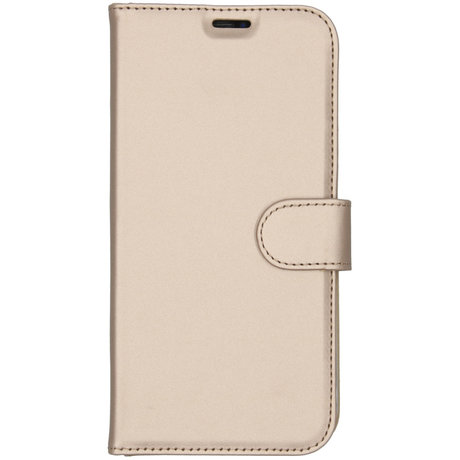 Accezz Wallet Softcase Booktype iPhone 11 Pro Max - Goud (D)
