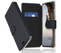 Accezz Accezz Xtreme Wallet Booktype iPhone 13 - Zwart (D)