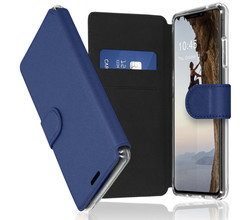 Accezz Accezz Xtreme Wallet Booktype iPhone 13 - Donkerblauw (D)