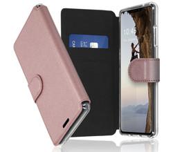 Accezz Accezz Xtreme Wallet Booktype iPhone 13 - Rosé Goud (D)