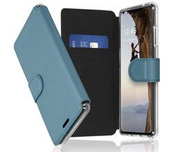 Accezz Accezz Xtreme Wallet Booktype iPhone 13 - Lichtblauw (D)