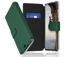 Accezz Accezz Xtreme Wallet Booktype iPhone 13 - Donkergroen (D)