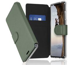 Accezz Accezz Xtreme Wallet Booktype iPhone 13 - Lichtgroen (D)