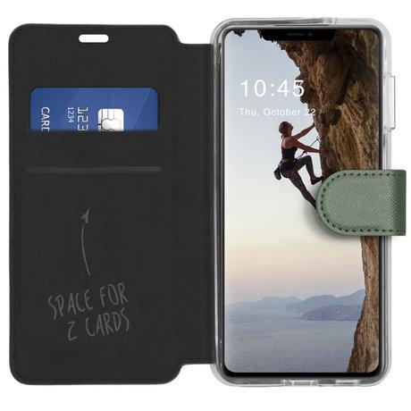 Accezz Xtreme Wallet Booktype iPhone 13 - Lichtgroen (D)