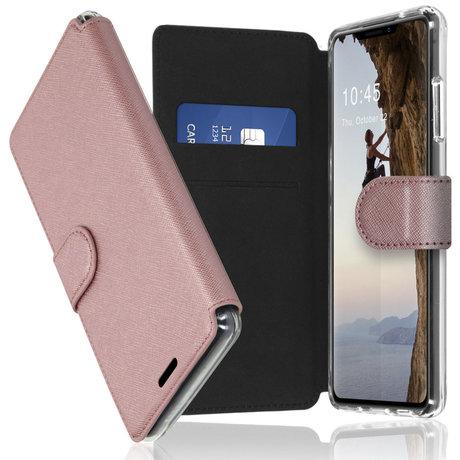 Accezz Xtreme Wallet Booktype iPhone 13 Pro - Rosé Goud (D)