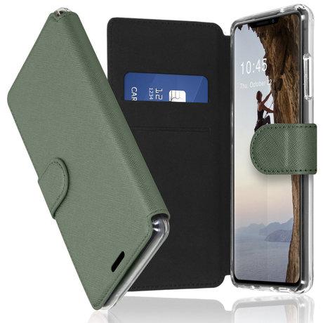 Accezz Xtreme Wallet Booktype iPhone 13 Pro - Lichtgroen (D)