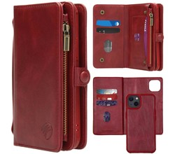 iMoshion iMoshion 2-in-1 Wallet Booktype iPhone 13 - Rood (D)