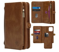 iMoshion iMoshion 2-in-1 Wallet Booktype iPhone 13 Pro - Bruin (D)
