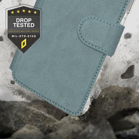 Accezz Xtreme Wallet Booktype iPhone 12 (Pro) - Lichtblauw (D)