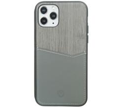 Valenta Valenta Card Slot Backcover iPhone 11 Pro Max - Grijs (D)