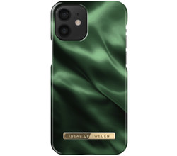 iDeal of Sweden iDeal of Sweden Fashion Backcover iPhone 12 Mini - Emerald Satin (D)