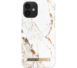iDeal of Sweden iDeal of Sweden Fashion Backcover iPhone 12 Mini - Carrara Gold (D)