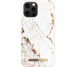 iDeal of Sweden iDeal of Sweden Fashion Backcover iPhone 12 Pro Max - Carrara Gold (D)