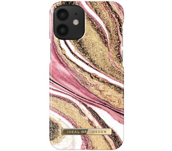 iDeal of Sweden iDeal of Sweden Fashion Backcover iPhone 12 Mini - Cosmic Pink Swirl (D)