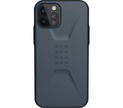 UAG UAG Civilian Backcover iPhone 12 (Pro) - Blauw (D)