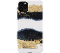 iDeal of Sweden iDeal of Sweden Fashion Backcover iPhone Xs Max - Gleaming Licorice (D)