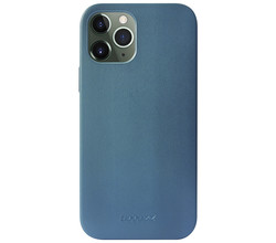 Accezz Accezz Leather Backcover met MagSafe iPhone 12 Pro Max -Donkerblauw (D)
