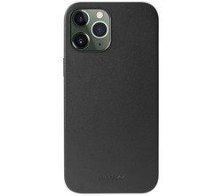Accezz Accezz Leather Backcover met MagSafe iPhone 12 Pro Max - Zwart (D)