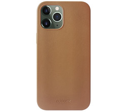 Accezz Accezz Leather Backcover met MagSafe iPhone 12 Pro Max - Bruin (D)