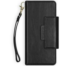 Selencia Selencia 2-in-1 Uitneembare Vegan Lederen Bookcase iPhone Xr - Zwart (D)